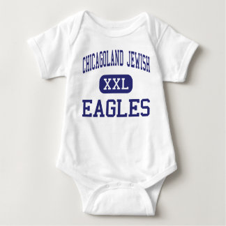 Chicagoland Jewish - Eagles - High - Northbrook Baby Bodysuit