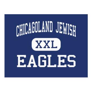 Chicagoland Jewish - Eagles - High - Northbrook Postcard