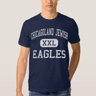 Chicagoland Jewish - Eagles - High - Northbrook Tshirt