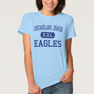 Chicagoland Jewish - Eagles - High - Northbrook Tshirts
