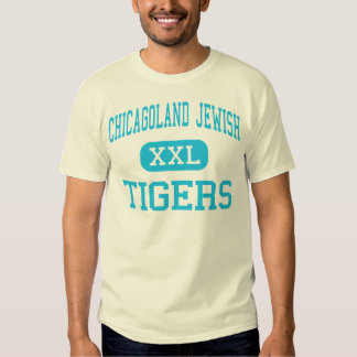 Chicagoland Jewish - Tigers - High - Deerfield T Shirt