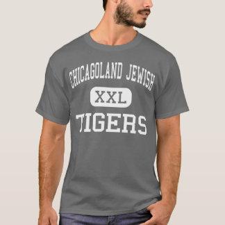 Chicagoland Jewish - Tigers - High - Deerfield T-Shirt