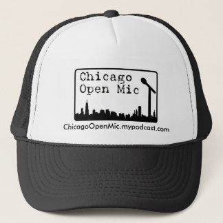 ChicagoOpenMic.mypodcast.com Trucker Hat