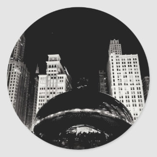 Chicago's Bean Classic Round Sticker
