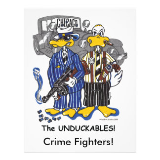Chicago's Untouchables 21.5 Cm X 28 Cm Flyer