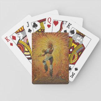 Chicemeca fire dancer - Amazing Mexico cards