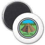 Chichen Itza Fridge Magnets