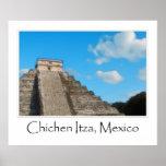 Chichen Itza Mayan Ruin Mexico Poster