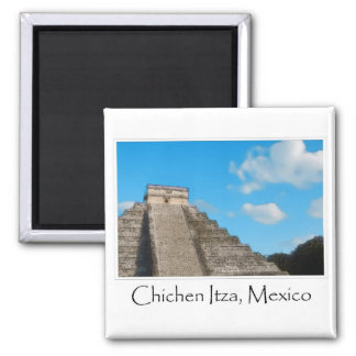 Chichen Itza Mayan Temple in Mexico Magnet