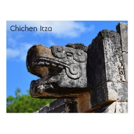 Chichen Itza Mexico Kukulkan Waxaklahun Ubah Kan Postcard