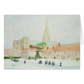Chichester Cathedral and Visiting Choir Card