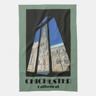 Chichester Cathedral teatowel Towels