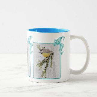 Chick-a-dee mug