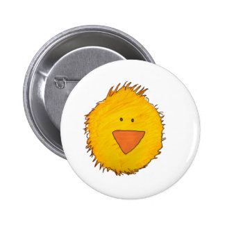 Chick Alone 6 Cm Round Badge
