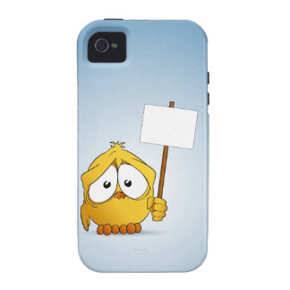 Chick and signboard iPhone 4 case