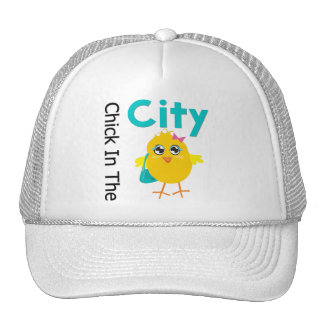 Chick in The City Trucker Hat