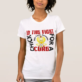 Chick In The Fight Bone Cancer Tank Top