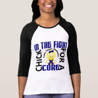 Chick In The Fight Colon Cancer T-Shirt