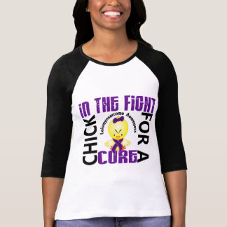Chick In The Fight Leiomyosarcoma T-Shirt
