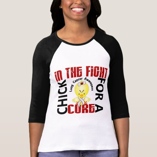 Chick In The Fight Lung Cancer T-Shirt