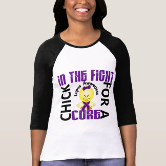 Chick In The Fight Lupus Tee Shirts
