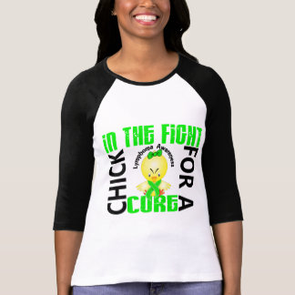 Chick In The Fight Lymphoma T-Shirt