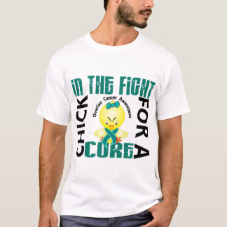 Chick In The Fight Ovarian Cancer T-Shirt