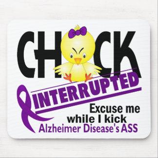 Chick Interrupted 2 Alzheimer s Disease Mousepads