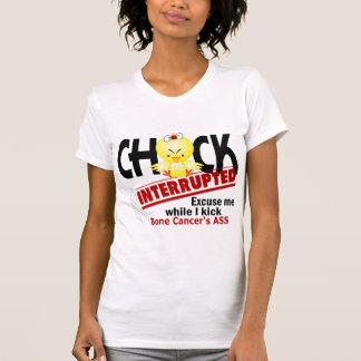 Chick Interrupted 2 Bone Cancer Shirts