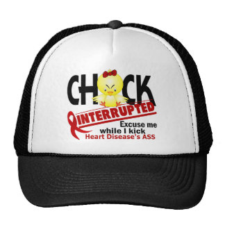 Chick Interrupted 2 Heart Disease Cap