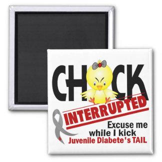 Chick Interrupted 2 Juvenile Diabetes Fridge Magnet