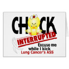 Chick Interrupted 2 Lung Cancer Card