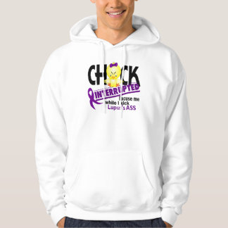 Chick Interrupted 2 Lupus Hoodie