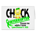Chick Interrupted 2 Lyme Disease Greeting Cards