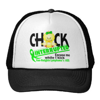 Chick Interrupted 2 Non-Hodgkin's Lymphoma Hats
