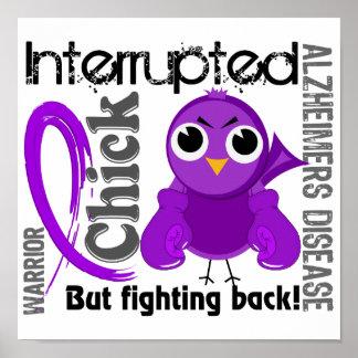 Chick Interrupted 3 Alzheimer's Disease Poster