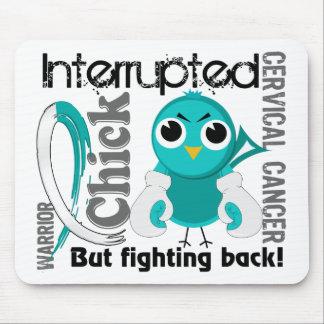 Chick Interrupted 3 Cervical Cancer Mouse Mat