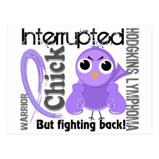 Chick Interrupted 3 Hodgkin's Lymphoma / Disease Postcards