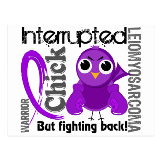 Chick Interrupted 3 Leiomyosarcoma Postcard