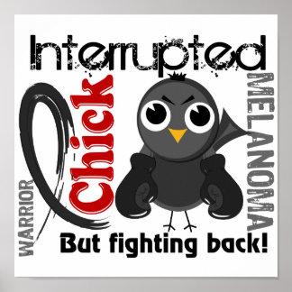 Chick Interrupted 3 Melanoma Print