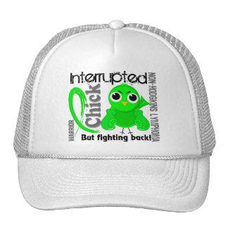 Chick Interrupted 3 Non-Hodgkin's Lymphoma Trucker Hat