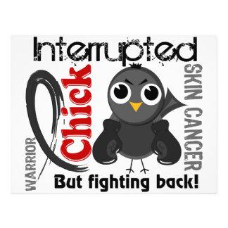 Chick Interrupted 3 Skin Cancer Flyer Design