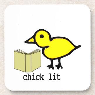 Chick Lit Coasters