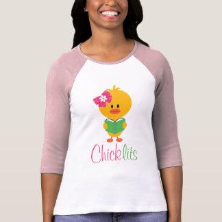 Chick Lits Raglan Tee Shirt