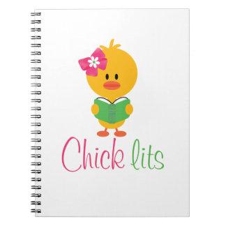 Chick Lits Spiral Notebook Journal