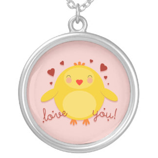 CHICK LOVE YOU! - necklace