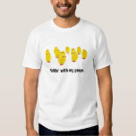 Chick magnet chillin with my peeps funny apparel shirts