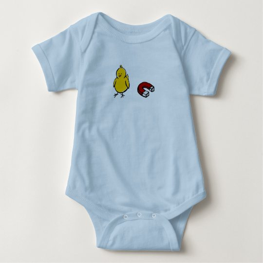 chick magnet infant baby bodysuit