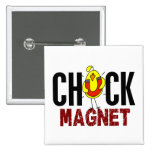 Chick Magnet Pins