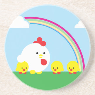 Chick n chicks coaster